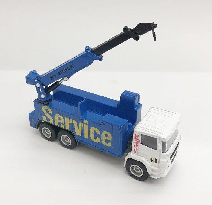 【阿LIN】6121AA 6012工程系列 救援服務車 1:60 Scale HY TRUCK 模型車 高空作業車
