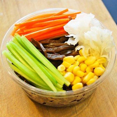 黑木耳涼拌菜 x 醋拌養生五色蔬│清爽開胃、輕食沙拉、酸香可口