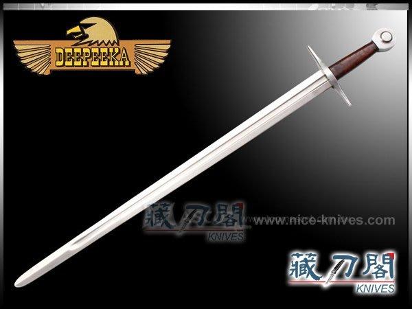 《藏刀閣》Deepeeka Swords-馬歇爾爵士長劍(正式皮鞘)