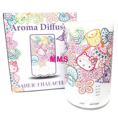 原裝行貨 Sanrio Melody Kuromi Little Twin Stars Hello Kitty 七彩漸變 USB 香薰 加濕器 香薰機 小夜燈