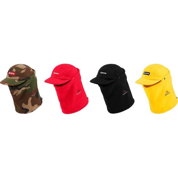 【美國鞋校】預購 SUPREME FW19 Facemask Polartec Camp Cap 羊毛 露營帽