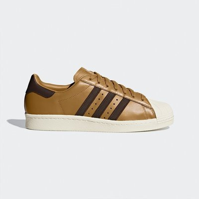 【Cool Shop】ADIDAS SUPERSTAR 80s WHEAT G28213 咖啡 休閒鞋 貝殼頭 台北市