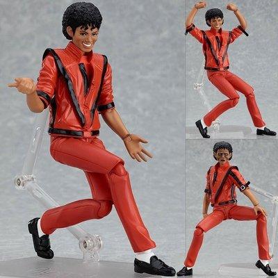 【紫色風鈴3.3】Figma 096# 邁克爾杰克遜MJ Thriller 顫栗MV裝可動 港版