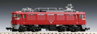 [玩具共和國] TOMIX 7156 JR ED75-700形電気機関車(前期型)