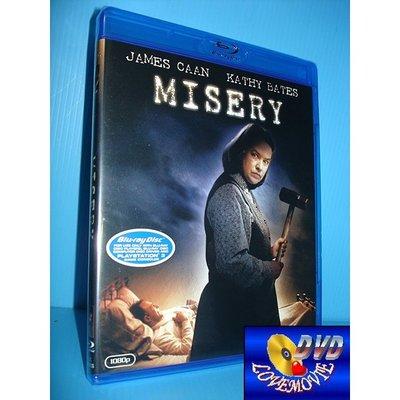 A區Blu-ray藍光正版【戰慄遊戲Misery (1990)】50 GB [含中文字幕]全新未拆《鬼胎記:凱西貝茲》