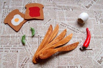 【灶咖好物】olive wood 橄欖木奶油刀 抹刀 butter spread knife