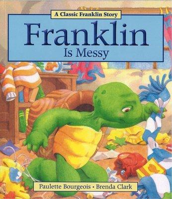 *小貝比的家*FRANKLIN IS MESSY  /平裝/7~12歲[汪培珽英文書單]/第三階