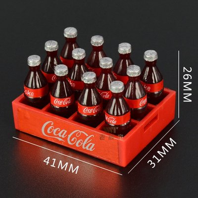 1/10 仿真 可樂 雪碧 飲料罐 攀爬車 攀岩車 軍卡 大腳 TRX-4 D90 SCX10 場景裝飾配件