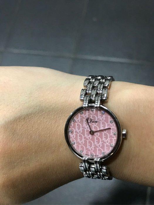 Dior BAGHEERA 雲豹系列腕錶-粉紅色