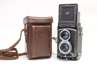 *JAZZ 棧 * 稀有蔡司紅T鏡頭 Rolleicord III - Model K3B雙眼相機 TLR