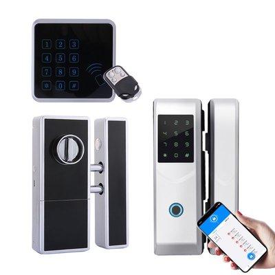 Headen免布線隱形遙控鎖電子門禁密碼家用暗鎖手機遠程智能大門鎖哇塞
