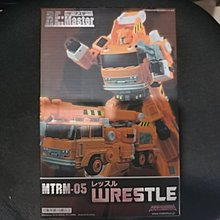 Transformers 變形金剛 MakeToys MTRM-05 WRESTLE MP Re Master G1 Grapple