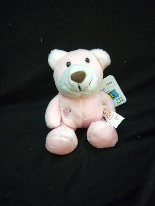 特價品 粉紅熊 愛心熊 絨毛 玩偶 吊飾 鑰匙圈 娃娃機 可面交