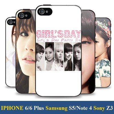 《City Go》Girl's Day 素珍、Yura、珉雅、惠利 手機殼 iPhone 5 6 Plus note 4