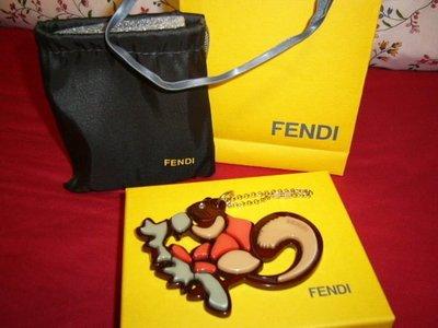 <葛蕾飾屋一館>真品Fendi松鼠限量吊飾~可別於包包上當裝飾品喔!ㄅ