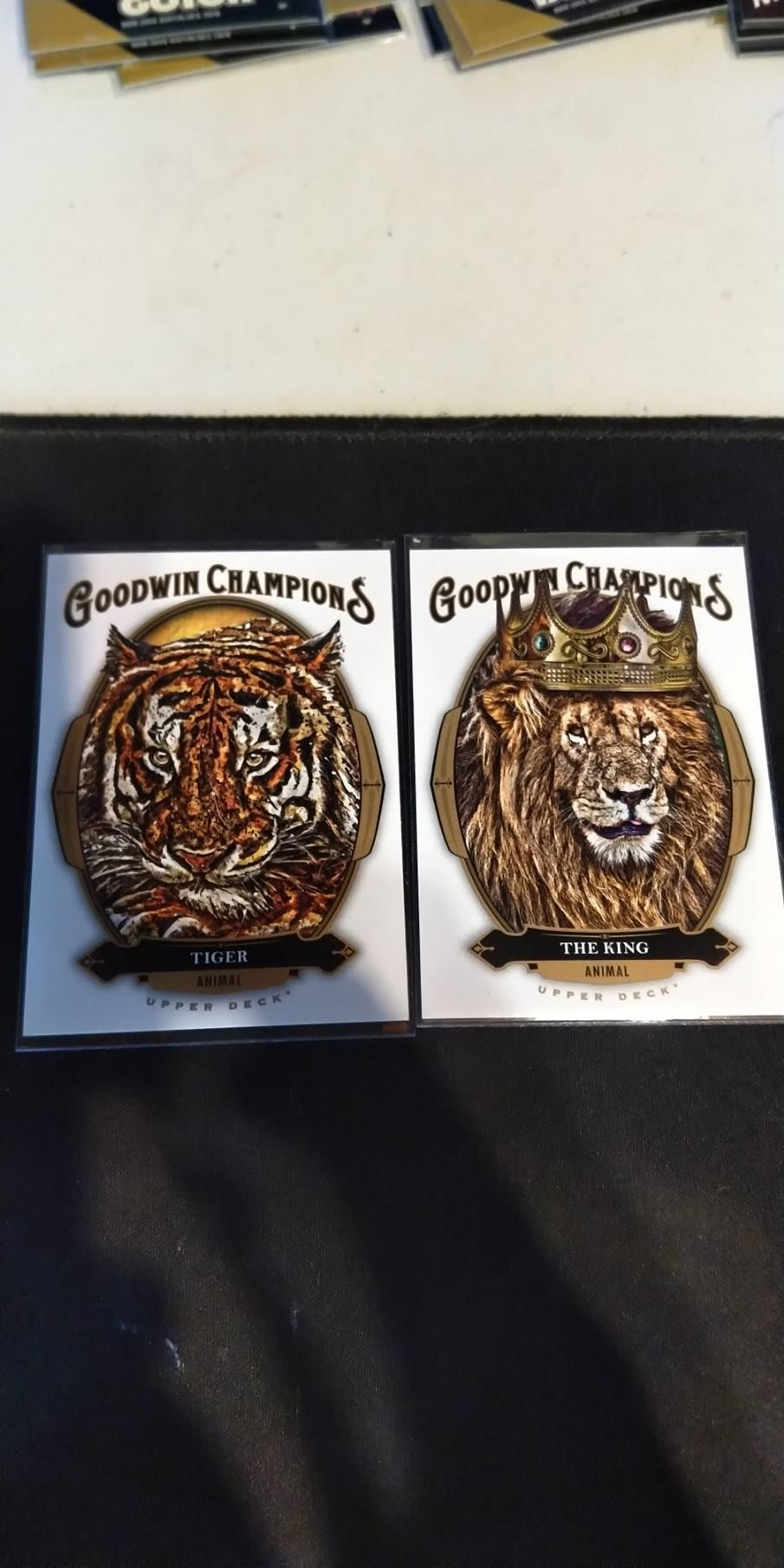 THE KING THE TIGER 編號11 編號 44 兩張 2020 GOODWIN CHAMPIONS