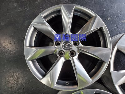 18吋Lexus RX原廠鋁圈CAMRY.PREVIA.RAV4.CHR.ALPHARD.NX.GS.ES.SIENNA