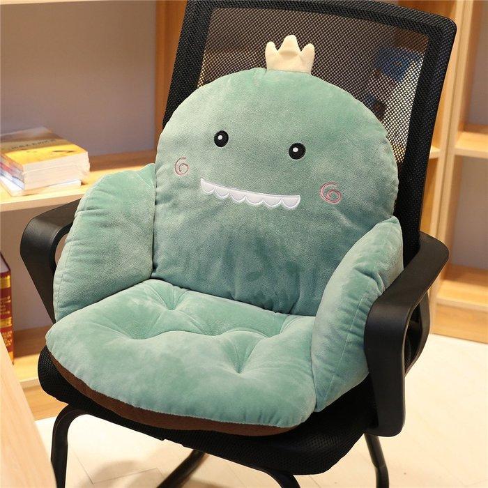 西柚姑娘雜貨鋪☛熱賣中#辦公室久坐靠背腰靠連體坐墊地上靠墊一體地板墊子懶人榻榻米椅墊
