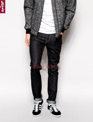 【原色彈性28-38腰】美國LEVI S Skinny 510 深黑藍養褲窄管小直筒褲牛仔褲丹寧褲511 501