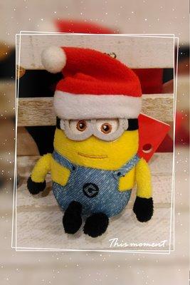小小兵聖誕公仔吊飾 * 日本大阪環球影城正版商品