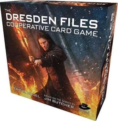 大安殿實體店面 The Dresden Files Cooperative Card Game 巫師神探 正版益智桌遊