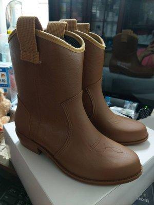 [檬檬Store] Charming 日本製 中筒雨鞋 雨靴 卡其色LL 日本製 梅雨季 豪雨 正貨  現貨 只有一雙
