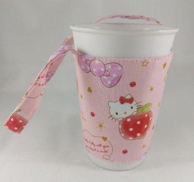 環保杯套【hello kitty】-送禮、生日小物、婚禮拌手小禮物