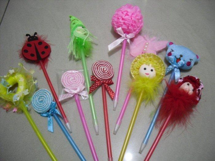 創意造型 原子筆   ( 10+1 件組 )    可愛送禮   自用 皆相宜
