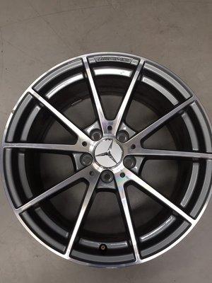 [台中上翔輪胎]BENZ  W205 18吋,前后配 鋁圈 新車拆下