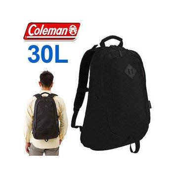 【山野賣客】Coleman CM-21664經典黑 30L ATLAS電腦背包 休閒背包 旅遊背包 雙肩包 單車背包 工