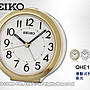 SEIKO 精工 鬧鐘專賣店 QHE146G 滑動式秒針...