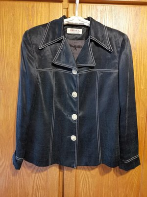 專櫃品牌ROBES絲棉長袖西裝外套