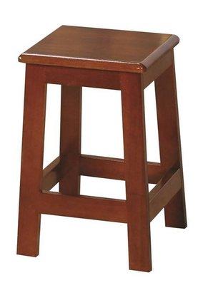 【YT095-6】 田園油木方高板凳-1.5尺 #TU-142