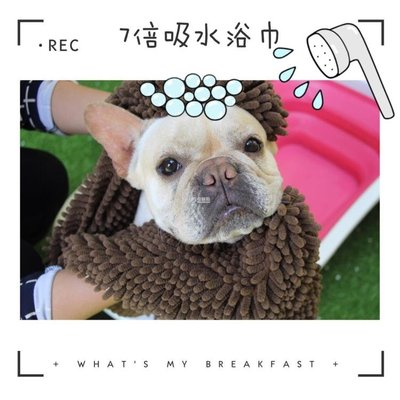 宠物吸水毛巾 自留寵物吸水毛巾 7倍吸水美亞SOGGY DOGGY狗犬浴巾法斗洗澡用品