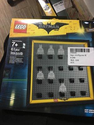 全新 LEGO Minifigures Batman 板
