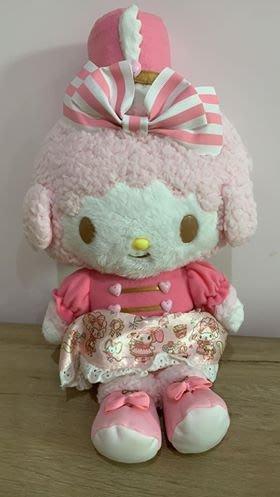 【東京家族】My Melody美樂蒂 軍裝 粉色 絨毛玩偶 娃娃