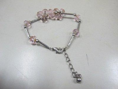 二手舖 NO.3744 水鑽造型手鍊 手環 首飾飾品