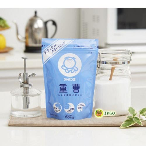 【JPGO日本購】日本製 玉石鹼 小蘇打粉廚房清潔粉 680g #273