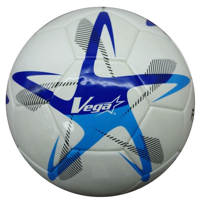 體育課 VEGA 4號頂級TPU室內低彈跳足球 比賽 訓練 五人制足球專用THP-W(亮白色)
