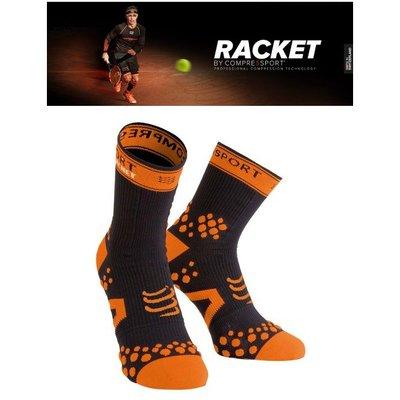 【Compressport瑞士】高壓縮襪–RACKET 標準筒