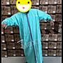 Max工作室~一件式 雨衣【Joahi W-027系列:土耳其藍/灰】兩側 側開 前開式/連身式 超商取貨付款OK^^