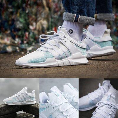 【Cheers】 Adidas EQT ADV CK x Parley AC7804 白藍色 海洋之心 聯名限量球鞋