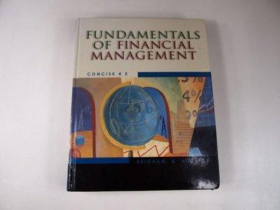 【考試院二手書】《Fundamentals of Financial Management 》Baker & Taylor Books│ 八成新(31F35)