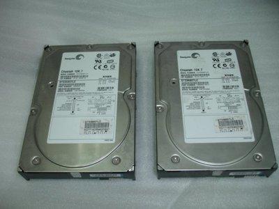 Seagate Cheetah ST336807LC 36G 10K RPM Ultra320 80pin SCSI硬碟