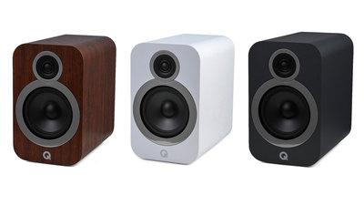 【興如】Q Acuostics Q3030i 書架喇叭 黑/白/核桃木 三色 來電優惠 另售3050i 3020i