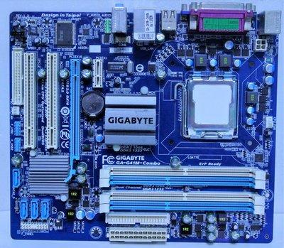 ~ 駿朋電腦 ~ 技嘉GA-G41M-Combo 775主機板 DDR2&DDR3 顯示 $500 桃園市