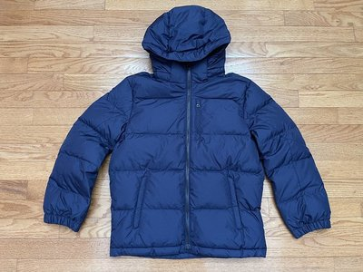 【Polo Ralph Lauren】RL 大男童 羽絨外套 刺繡小馬 保暖防風羽絨連帽外套 夾克 深藍色