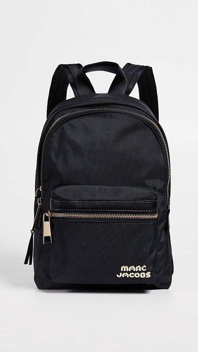 Coco 小舖 MARC JACOBS Trek Pack Large Backpack 黑金/色大款尼龍後背包