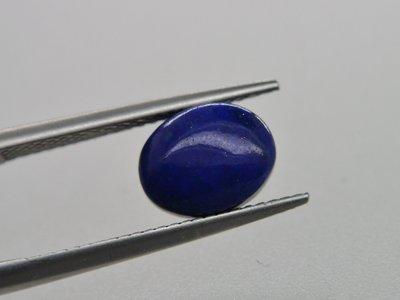 《競標商品專區》天然青金石 Lapis lazuli橢圓形蛋面  裸石 戒面 2.25CT