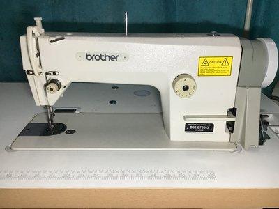 日本制BROTHER-736-3,薄中物料,是車布料用西褲、工業用縫紉機(針車)--贈LED工作燈